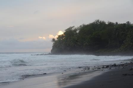 East coast of Dominica