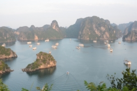 view from the hills on Halong bay II