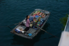 floating shop, Halong Bay