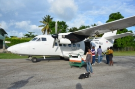 Flight to Les Cayes