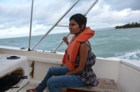 Boat transfer to Ile a vache