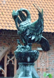 Marienburg, Malbork fountain