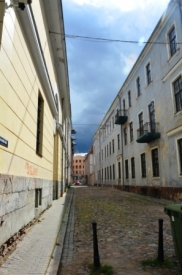 """in """"Old town"""", Riga"""