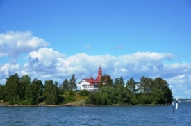 Island in the Helsinki waters