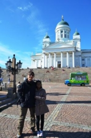 Helsinki cathedral with us