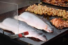 Salmon on the Helsinki market