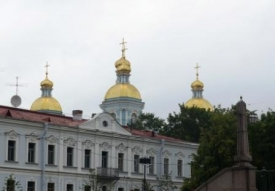over the roofs,  St. Petersburg