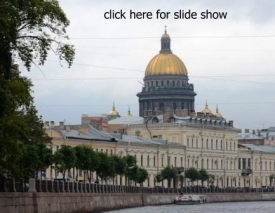 Cruising the canals in St. Petersburg VI
