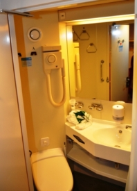 Cabin on Board of Silja Line
