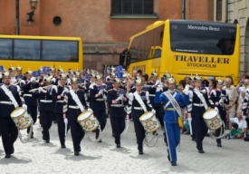 Changing the guards , Stockholm