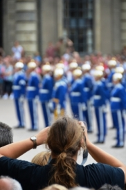 Changing the guards , Stockholm IV