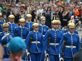 Changing the guards , Stockholm V