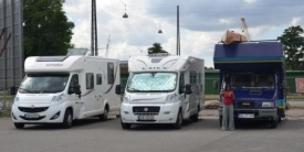 Motorhome parking Copenhagen