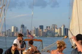 Sunset cruise in New York III